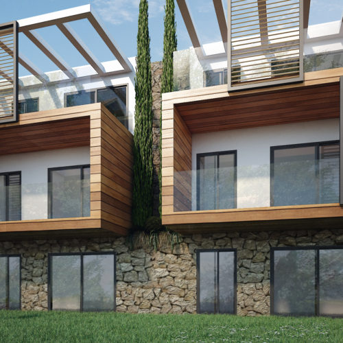 Infografía 3D viviendas